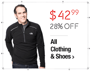The North Face Men's Black TKA 80 1/4 Zip Pullover $42.99 > 28% Savings