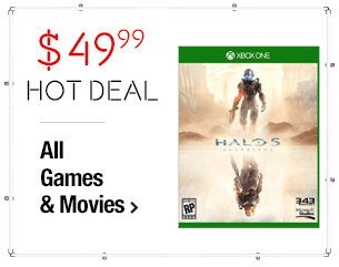 Xbox One - Halo 5: Guardians $49.99