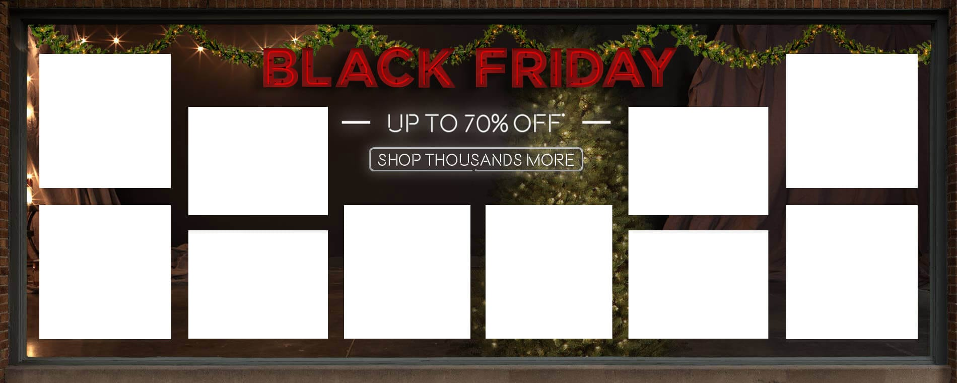 Black Friday. Up to 70% Off. Shop Thousands More.