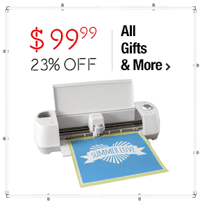 Cricut Explore Air Die Cutting Machine Bundle +10 Pens +4 Mats +Scraper +Bluetooth $99.99 > 23% OFF
