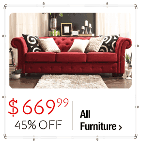 TRIBECCA HOME Knightsbridge Tufted Scroll Arm Chesterfield Sofa $669.99 > 33% OFF