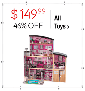 KidKraft Sparkle Mansion Dollhouse $149.99 > 46% OFF