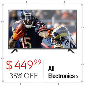 LG 50LF6000 50-inch 1080p 120hz LED HDTV > $449.99 > 35% Savings