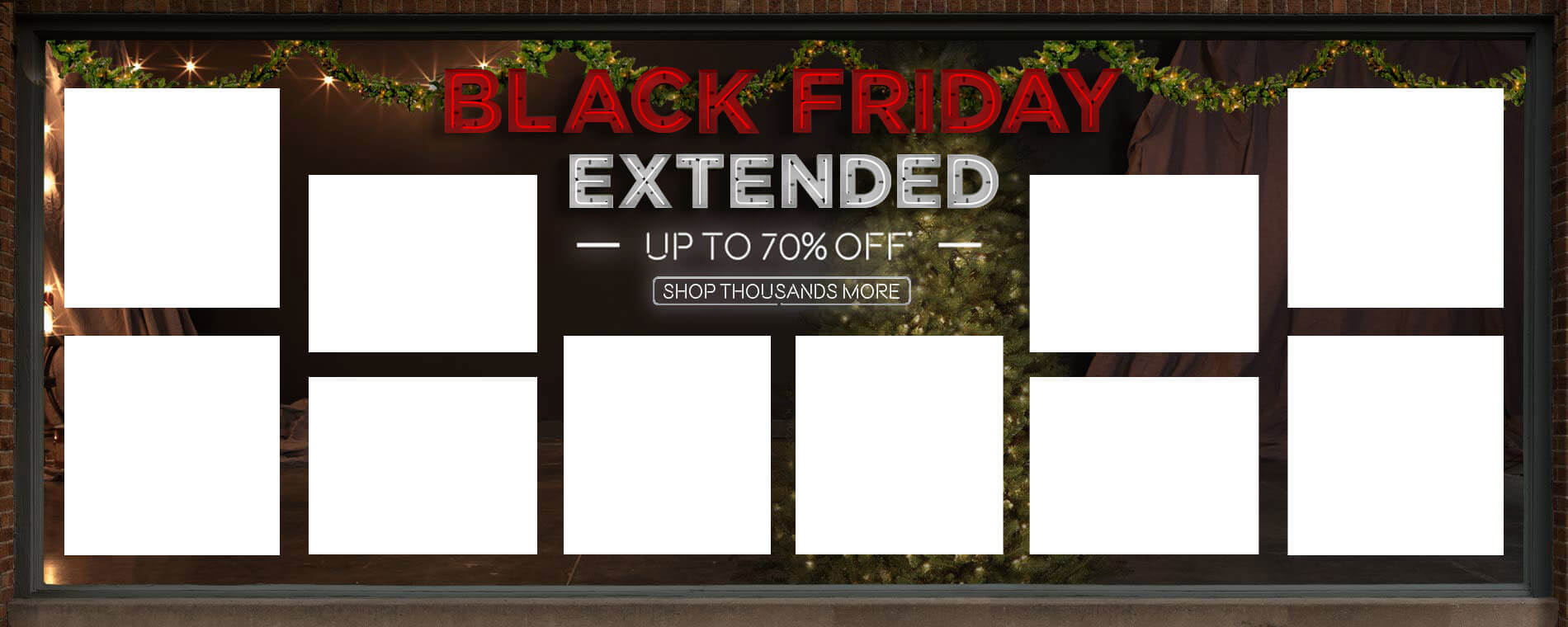 Black Friday Extended. Up to 70% Off. Shop Thousands More.