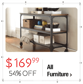 INSPIRE Q Nelson Industrial Modern Rustic Console Sofa Table TV Stand $169.99 > 54% OFF