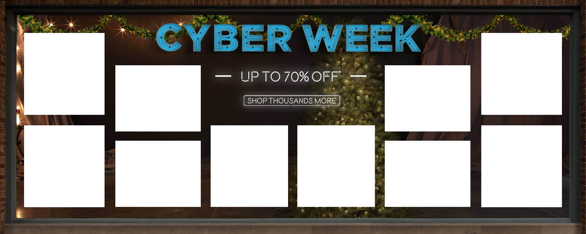 Cyber Week. Up to 70% Off. Shop Thousands More.
