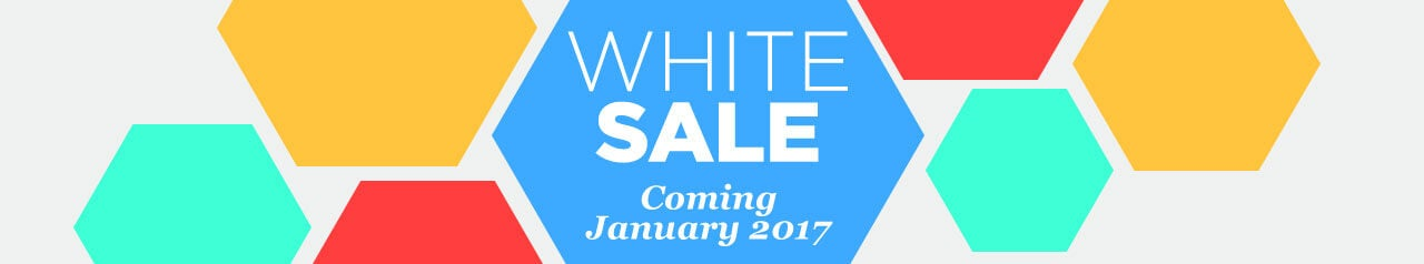 White Sale - Coming January 2017