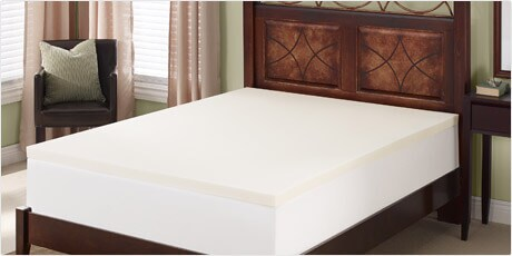 Serta Deluxe 2-inch Memory Foam Mattress Topper