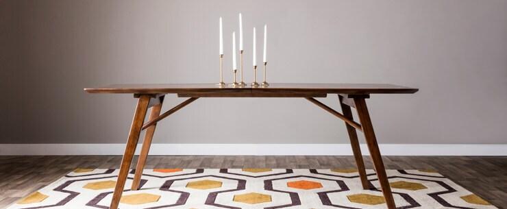 Mid-Century Modern Dining Room Table Legs