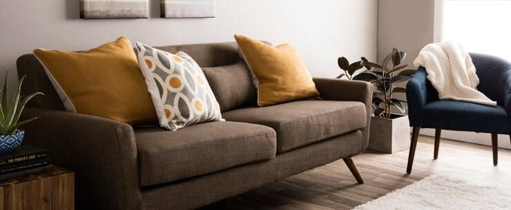 Mid-Century Modern Living Room Low Profile Furniture