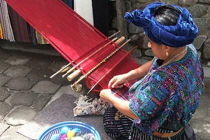 Regional weaver with loom