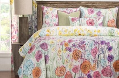 Flowery Bedding