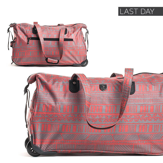 Last Day - Up to 60% off + Extra 10% Luggage & Bags*