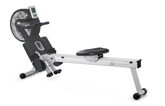 Stationary rowing machine
