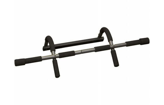 Black pull-up bar