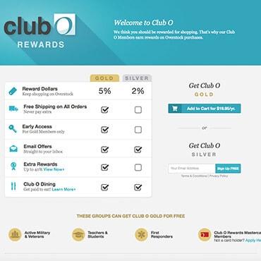 Overstock Club O Rewards