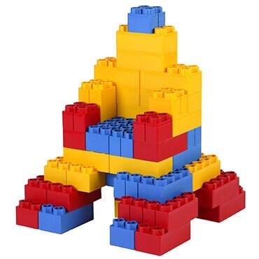 Kids adventure jum blocks 96 piece set