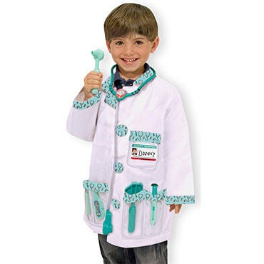 Doctor role play dress up costume set