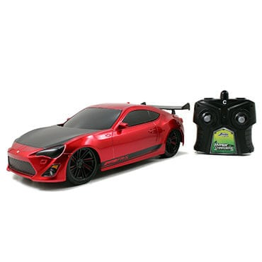 Jada toys hypercharge remote control car in red
