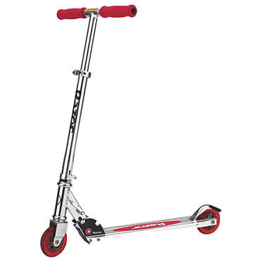 Razor a kick scooter in red