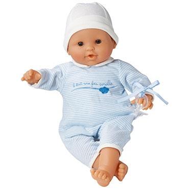 Classic baby girl or boy doll