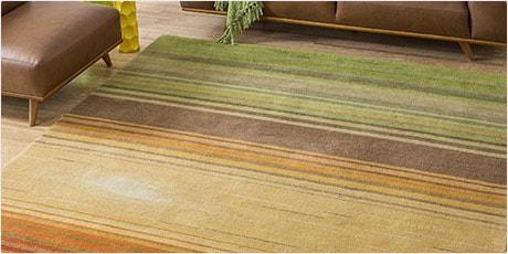 Nourison Hand-tufted Contours Harvest Rug (5' x 7'6)