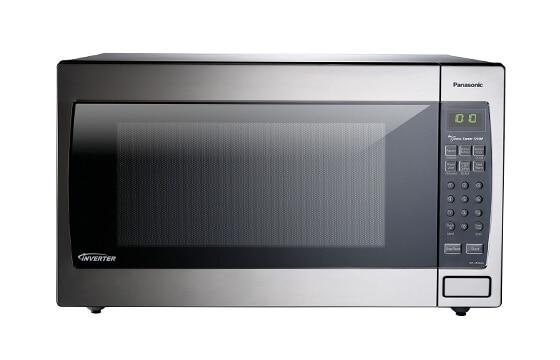 Panasonic 1250 watt microwave in stainless steel