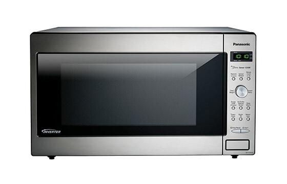 Panasonic built-in microwave in stainless steel