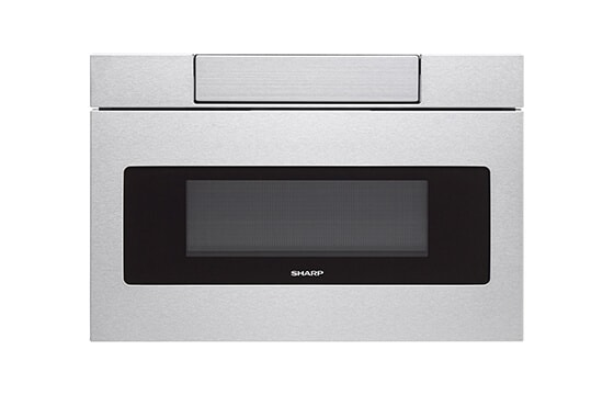 Sharp stainless steel microwave drawer