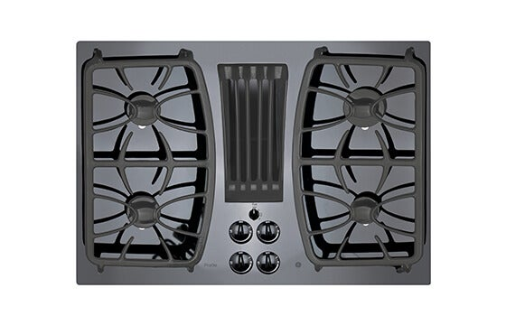 GE 30-inch built-in gas cooktop