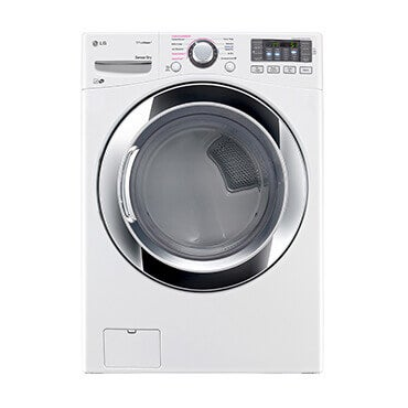 LG ultra large capacity gas steam dryer