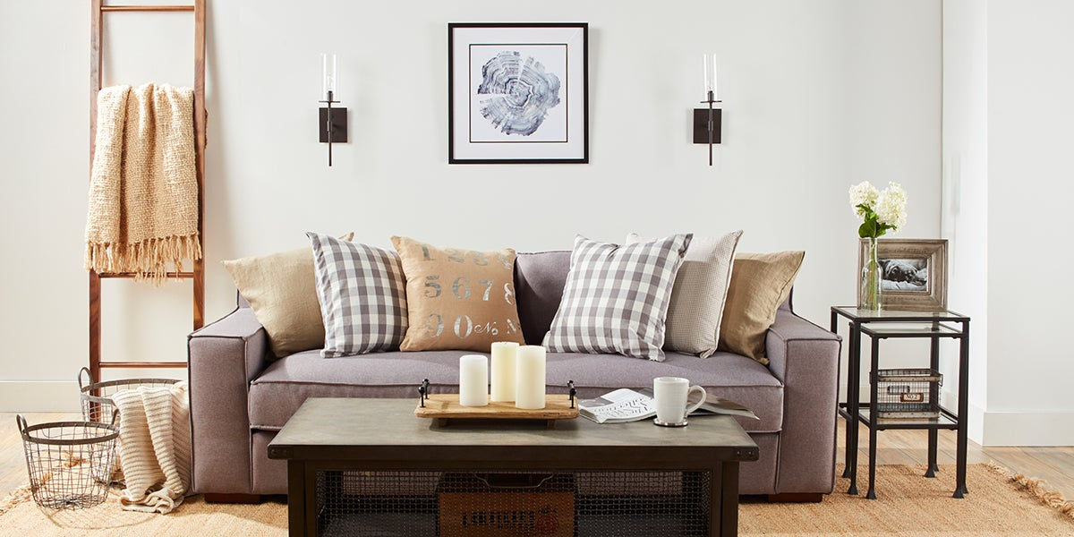 3  Farmhouse Living Room Makeover. 4 Brilliant Looks to Makeover Your Living Room   Overstock com