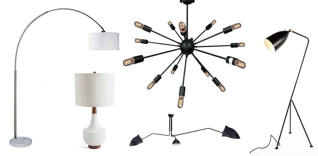 midcentury modern lighting
