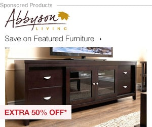 Extra 50% off Featured Furniture by Abbyson Living*