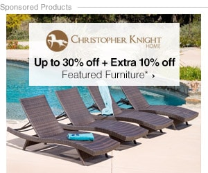 Up to 30% off + Extra 10% off Featured Furniture by Christopher Knight*