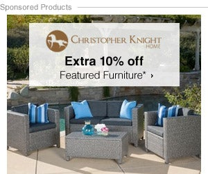 Extra 10% off Featured Furniture by Christopher Knight Home*