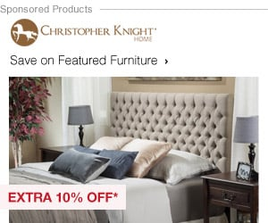 Extra 10% off Featured Furniture by Christopher Knight*