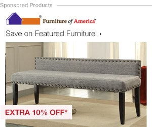 Extra 10% off Featured Furniture by Furniture of America*