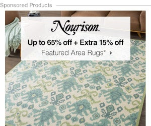 Up to 65% off + Extra 15% off Featured Area Rugs by Nourison*