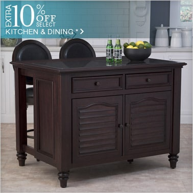 10% off Select Kitchen & Dining*