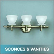 Sconces & Vanities