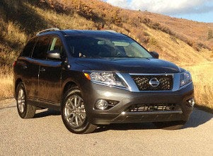 Image of a 2013 nissan pathfinder