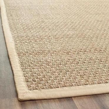 Choose a rug that's easy to clean