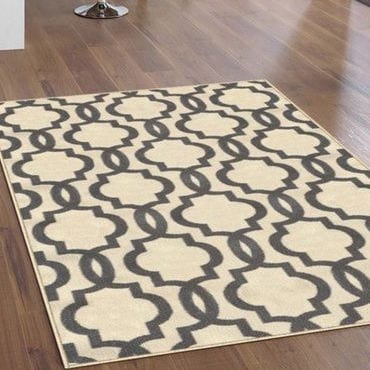 Pick out a non-slip rug for slick flooring