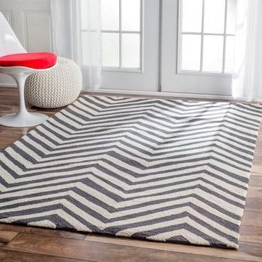 Chevron Zig-Zag Pattern Rugs