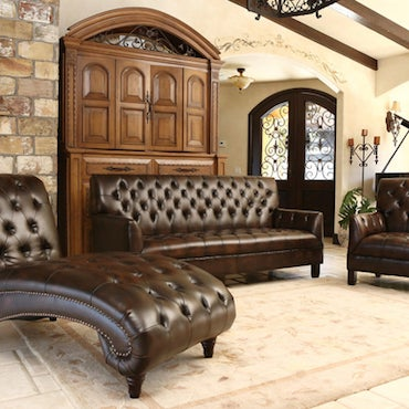The Appeal of Leather Living Room Furniture Sets