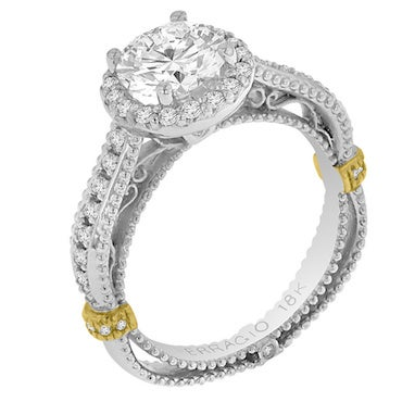 Stylish Combination Cubic Zirconia Ring