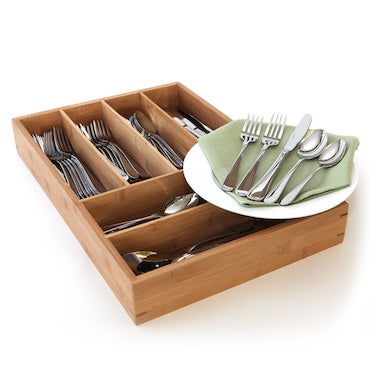 Stainless Steel Flatware Caddy