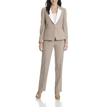 Beige Women's Suit