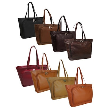 Assortment of Leather Tote Bags